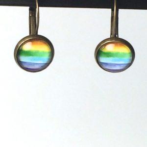 Oorhangers regenboog