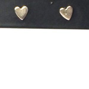 Zilveren hartjes klein model